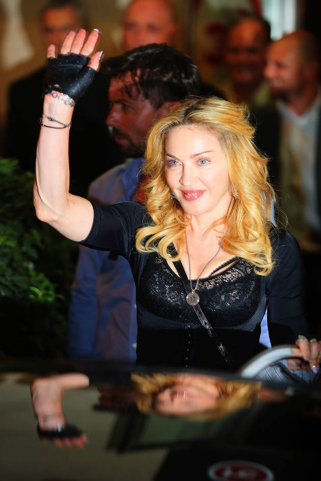 Madonna Banned From Movie Theater Chain For Doing THIS During a Film