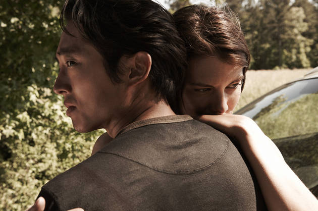 "The Walking Dead Season 4: Glenn and Maggie Have ""Clear Divide"" on Future"