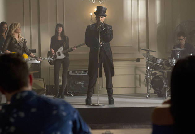 Spoiler Roundup: Adam Lambert on Glee Season 5 — Meet Starchild!