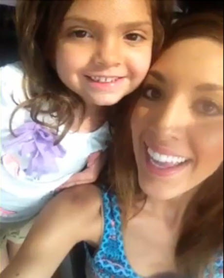 Farrah Abraham's Daughter Sophia Appears in New Keek — And She's Still Using a Binky! (VIDEO)