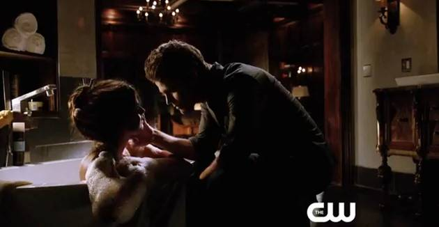 The Vampire Diaries Season 5 Canadian Promo: Delena Sex, College Fun, and Worried Damon (VIDEO)