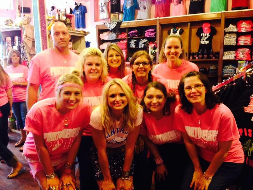 Miranda Lambert Opens Second Pink Pistol Boutique in Texas