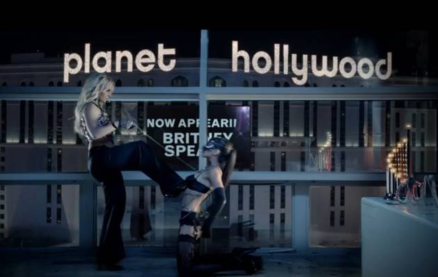 "Britney Spears ""Work B**ch"" Video Debuts!: Watch it Now!"