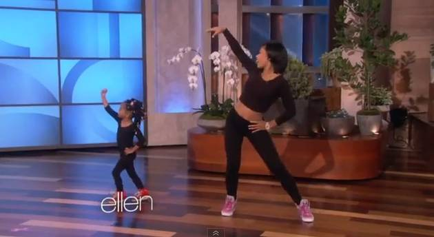 3-Year-Old Beyonce Fan Dances to 'End of Time' on Ellen (VIDEO)