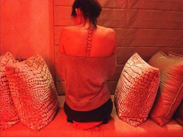 Did Kendall Jenner Get an Extreme Spine Tattoo?