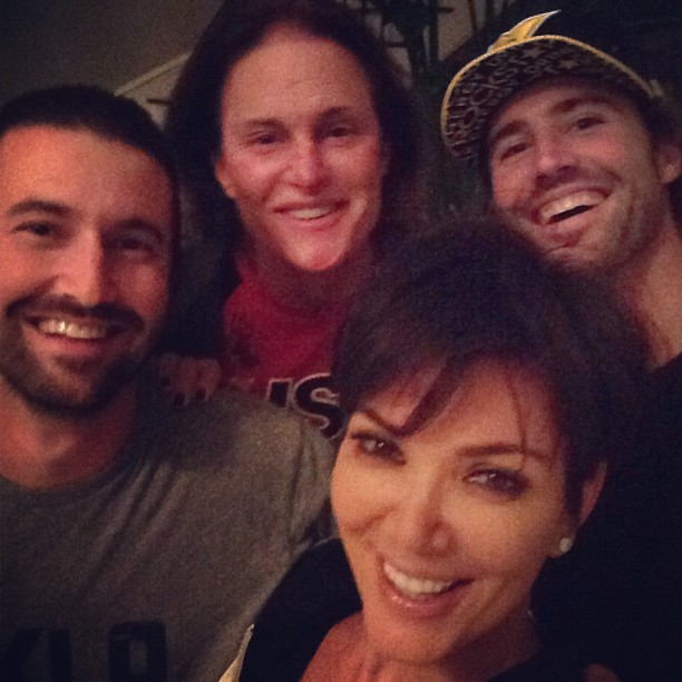 Kris Jenner Poses With Stepsons, Proves They Don't Hate Her