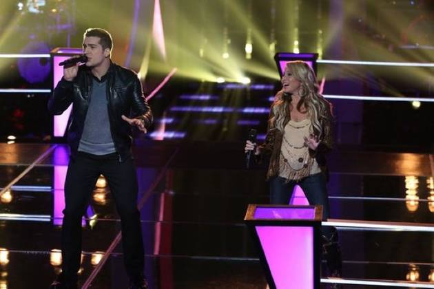 "Watch E. G. Daily and Sam Cerniglia Sing ""Something to Talk About"" on The Voice 2013 Battle Rounds (VIDEO)"