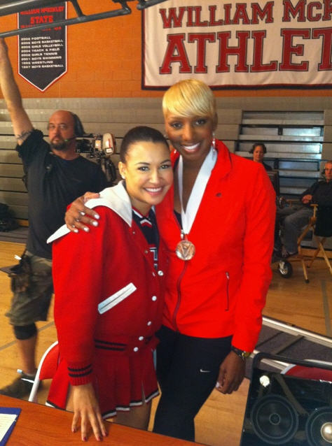"NeNe Leakes on Newly-Engaged Glee Co-star Naya Rivera: ""Her Ring is…"""