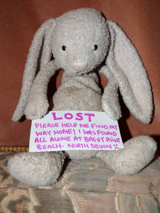 Miraculous Facebook Campaign Returns Lost Stuffed Bunny to Little Girl
