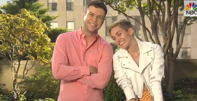 Miley Cyrus Mocks Her VMA Performance in SNL Promos (VIDEO)