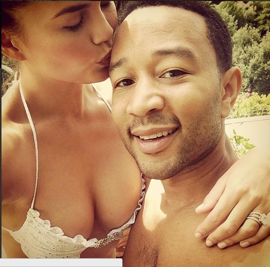 John Legend and Chrissy Teigen Kiss in Steamy New Music Video