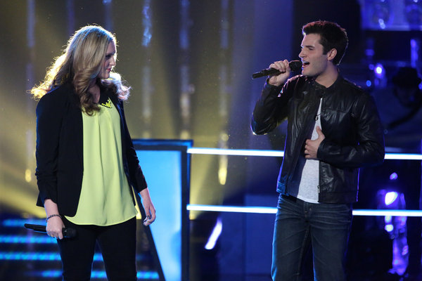 "Watch Emily Randolph and Brandon Chase Sing ""Tiny Dancer"" on The Voice 2013 Battle Rounds (VIDEO)"