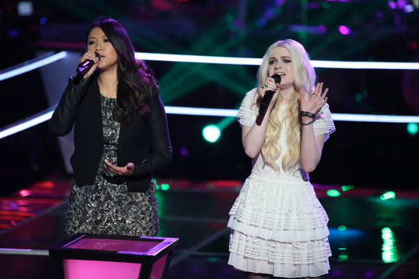 "Watch Holly Henry and Cilla Chan Sing ""Torn"" on The Voice 2013 Battle Rounds (VIDEO)"