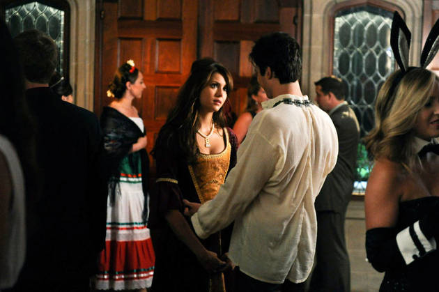 Vampire Diaries Season 5, Episode 5: Damon and Elena's Couples Costume (PHOTOS)