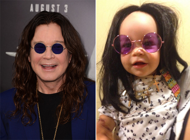 Who Wore it Best: Ozzy Osbourne or His Granddaughter Pearl? (PHOTO)