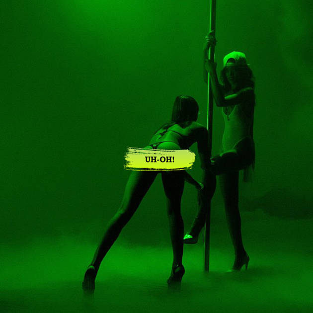 "Rihanna Learns to Pole Dance For ""Pour It Up"" Music Video (PHOTO)"