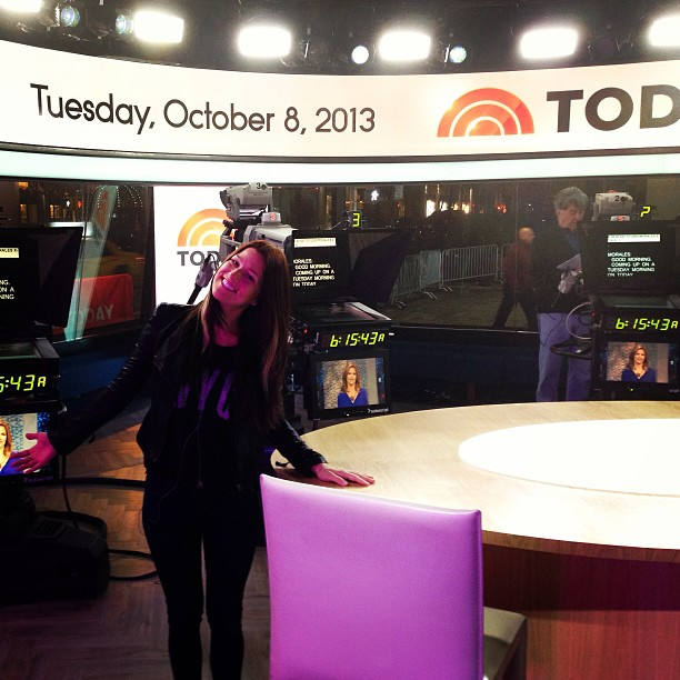 """Cassadee Pope Performs """"Wasting All These Tears"""" on The Today Show (VIDEO)"""