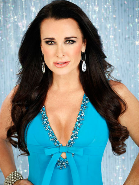 "Kyle Richards Shows Her ""O"" Face to the World! (VIDEO)"
