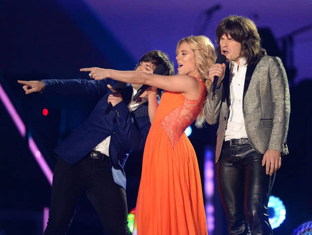"Cory Monteith Tribute: The Band Perry Reacts to Santana's ""If I Die Young"""