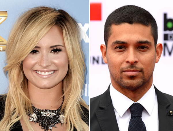 Demi Lovato and Wilmer Valderrama Hold Hands on Scary Date Night!