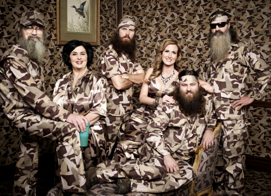 Duck Dynasty Family Photo — Look Ma, No Beards!