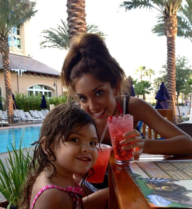 Farrah Abraham Defends Waxing Sophia's Eyebrows: It's Okay, She Was Sleeping!