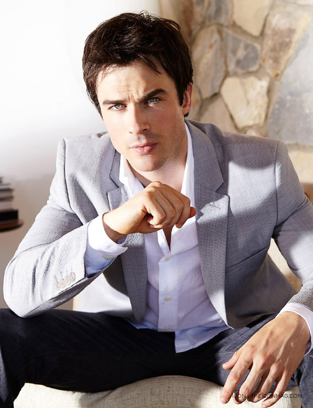 Ian Somerhalder Holds Tiny Puppy, Makes Women Everywhere Swoon (PHOTO)