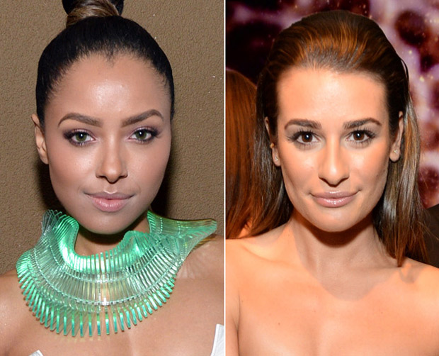 Kat Graham vs. Lea Michele in Belly-Baring Outfits — Who Wore It Better?