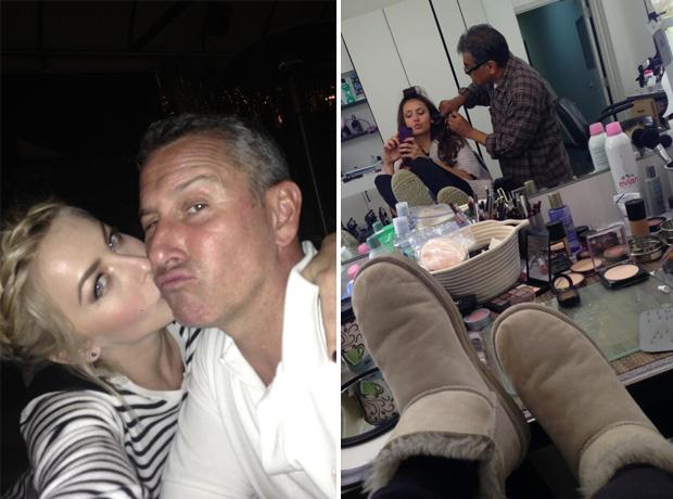 Nina Dobrev Sends Smooches to Bestie Julianne Hough and Adam Shankman! (PHOTO)