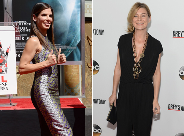 "Ellen Pompeo Fangirls Over Gravity, Says She's ""Got It Bad"" For Sandra Bullock"