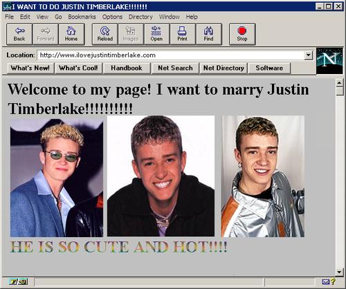 Teen Beat Tuesday: Justin Timberlake
