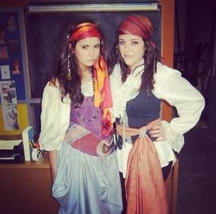 Nina Dobrev Is an Adorable Gypsy in Halloween Throwback Photo!