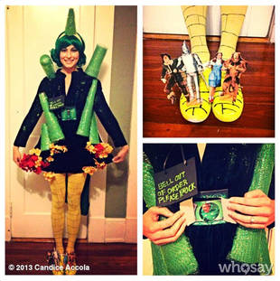 Candice Accola Dresses as the Emerald City for Halloween — See Her Crazy Costume!
