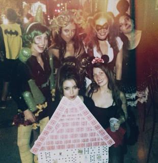 Nina Dobrev Dazzles as a House of Cards For Halloween 2013 (PHOTOS)