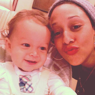 Tamera Mowry's Son, Aden, Turns One — See His Big Blue-Gray Eyes!