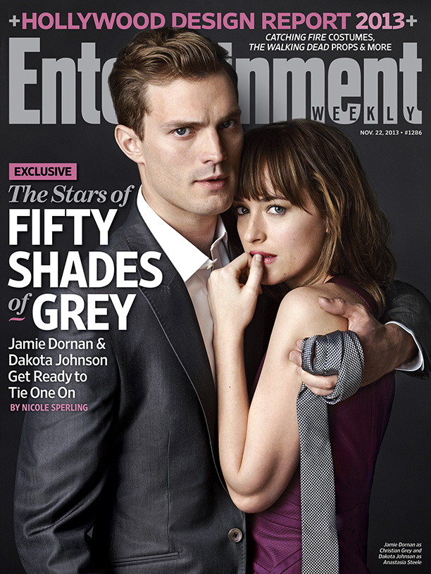 Fifty Shades of Grey: First Look at Christian Grey and Anastasia Steele! (UPDATE)