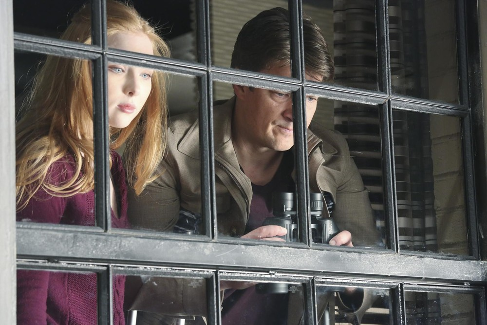 "Castle Season 6 Exclusive: Molly Quinn Says Acting Out Father-Daughter Rift With Nathan Fillion Is ""Very Hard"""