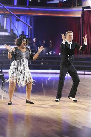 Dancing With the Stars 2013 Finale: Amber Riley and Derek Hough's Charleston