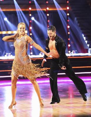 Dancing With the Stars 2013: Elizabeth Berkley and Val Chmerkovskiy's Week 8 Jazz (VIDEO)