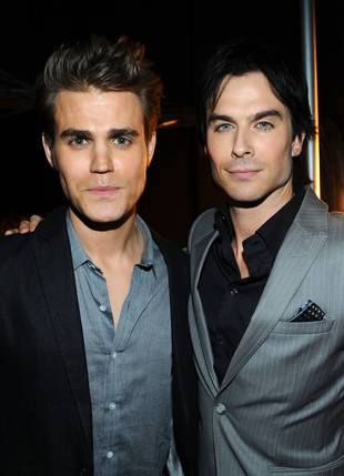 "Paul Wesley Does His Best Ian Somerhalder ""Smolder"" Impression — Watch and Swoon! (VIDEO)"