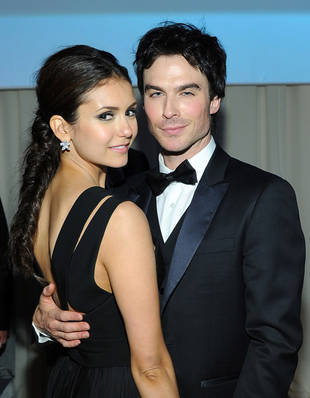 Nina Dobrev Congratulates Ian Somerhalder on His People's Choice Awards Nomination