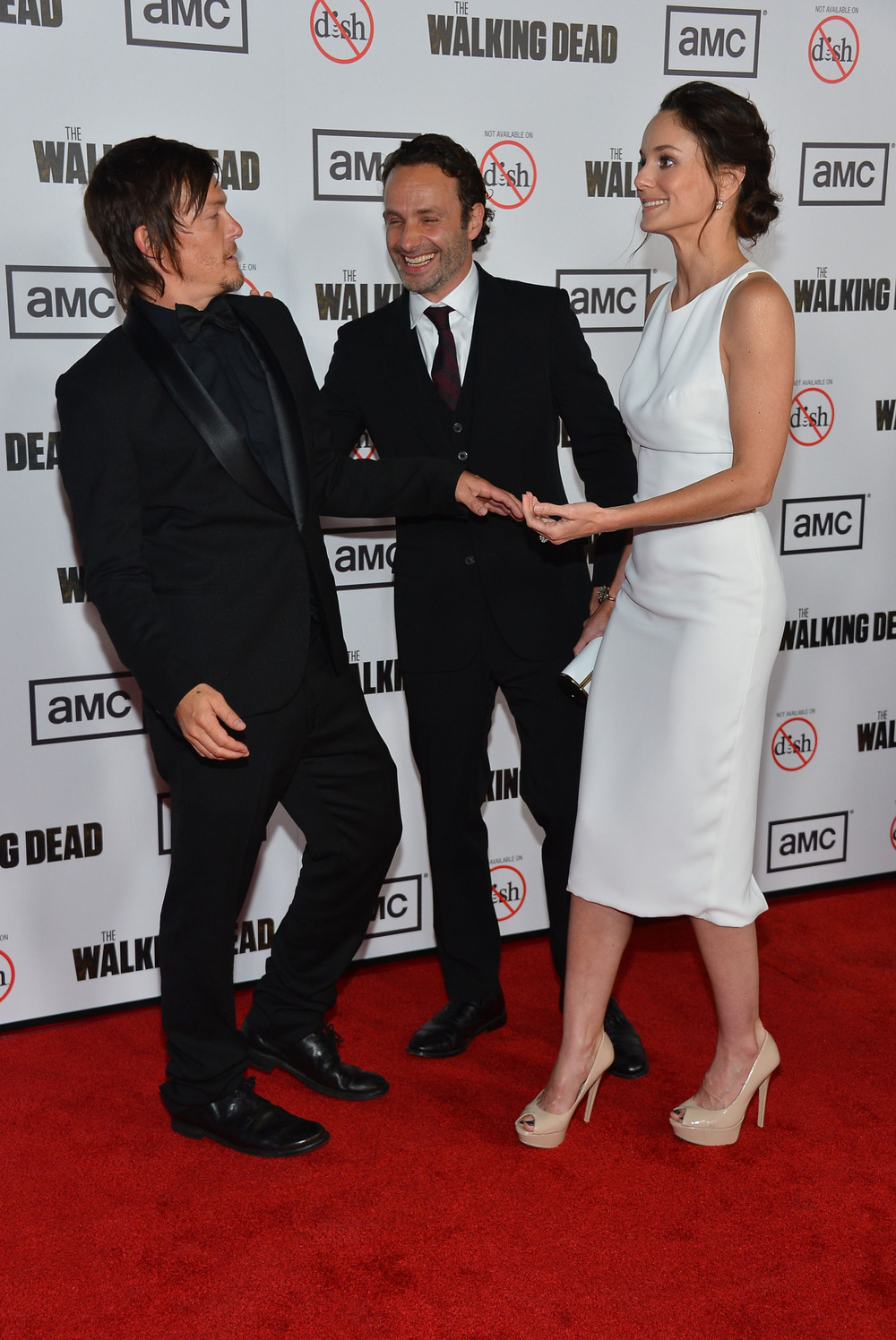 Andrew Lincoln Reveals Best Part of The Walking Dead: Norman Reedus!