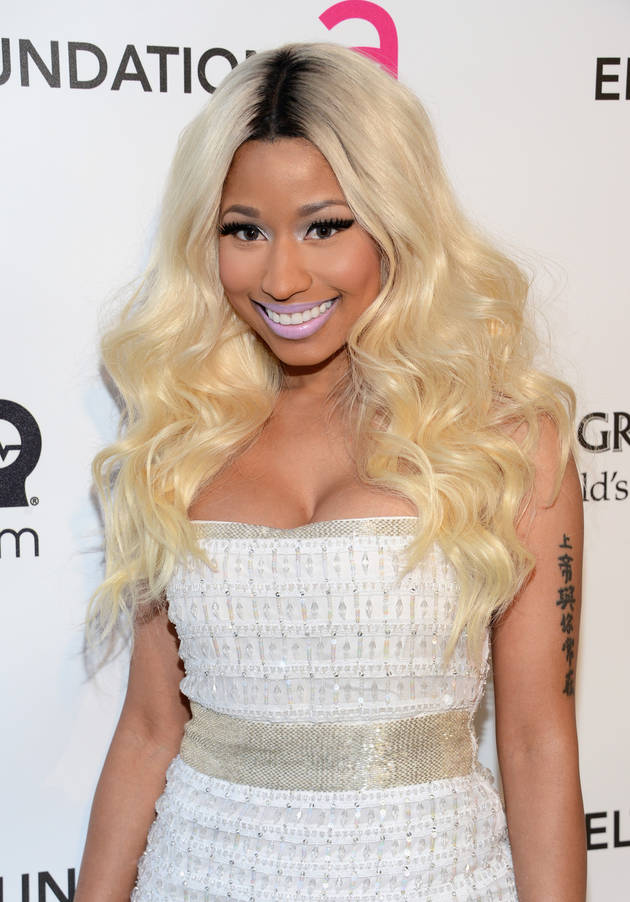 Nicki Minaj's Racy Cop Costume — Trick or Treat? (NSFW PHOTO)