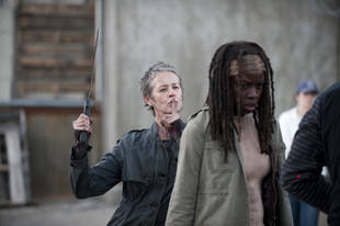 Melissa McBride Pranks Danai Gurira on Set: See the Hilarious Photo!
