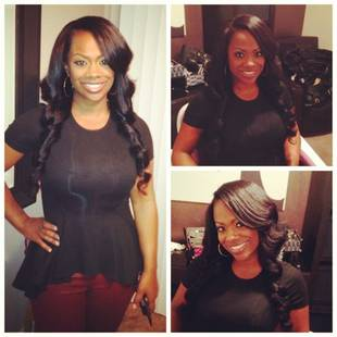 Kandi Burruss Wears Porsha Stewart's Hair Products — Hot or Not? (PHOTO)