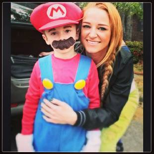 Maci Bookout and Ryan Edwards Reunite For Trick-or-Treating (PHOTO)