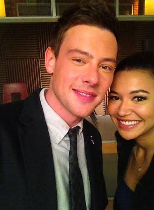 Glee's Naya Rivera Shares Memory of Cory Monteith
