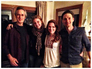 Sarah Drew Stages Everwood Reunion With Emily VanCamp and Gregory Smith! (PHOTO)