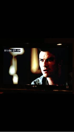 Ian Somerhalder Tweets Vampire Diaries 100th Episode Spoiler Pic — First Look at Damon! (PHOTO)