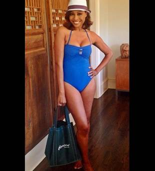 Cynthia Bailey Mixes Business and Pleasure in the Bahamas